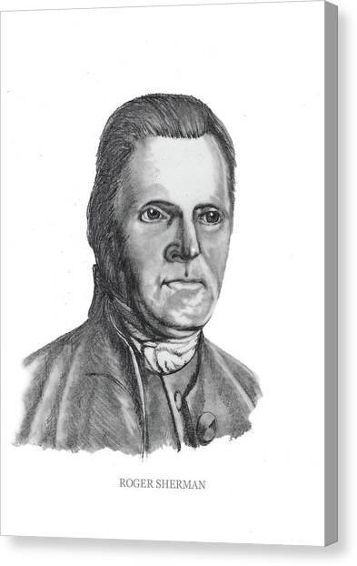 Roger Sherman Canvas Print
