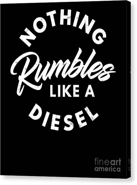 Turbo Diesel Canvas Prints