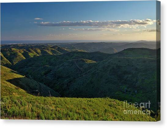 Rolling Mountain - Algarve Canvas Print