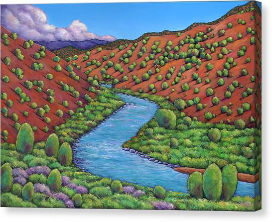Colorado Canvas Print - Rolling Rio Grande by Johnathan Harris