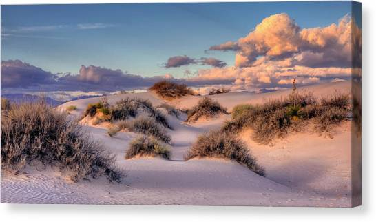 Rolling White Sands  Canvas Print
