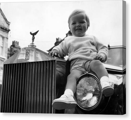 Rolls Royce Baby Canvas Print