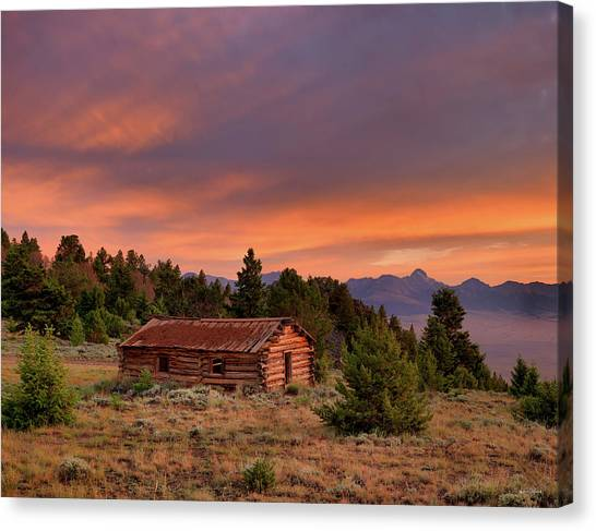 Altitude Canvas Print - Room With A View by Leland D Howard