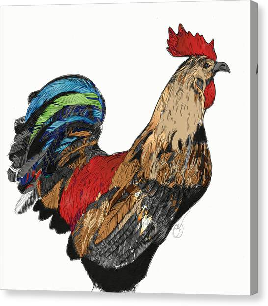 Rooster 1 Canvas Print