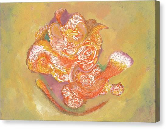 Rose - #ss19dw009 Canvas Print by Satomi Sugimoto