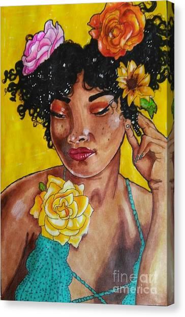 Rosie Canvas Print by William Bryant