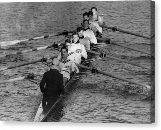 Rowing Eight Canvas Print