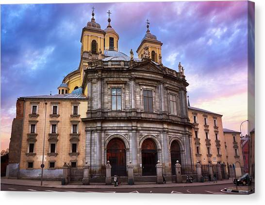 Royal Basilica Of San Francisco El Grande Canvas Print