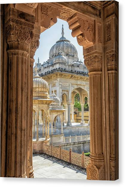 Royal Cenotaphs Canvas Print