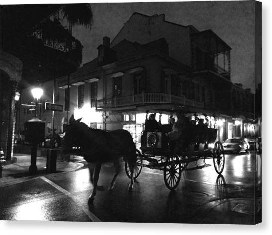 Canvas Print featuring the photograph Royal Street by Amzie Adams