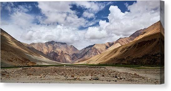 Rugged Himalayan Mountains Canvas Print