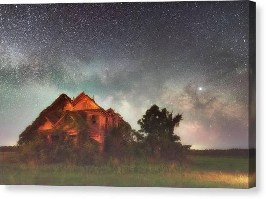 Ruined Dreams Canvas Print