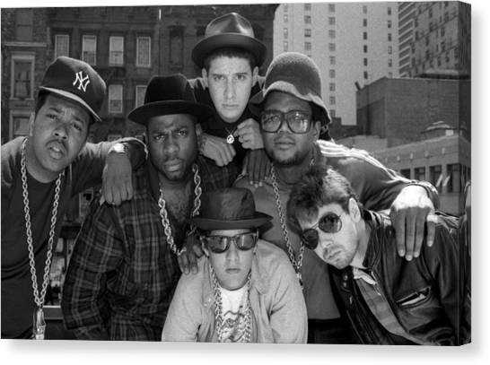 Run-dmc & Beastie Boys Canvas Print