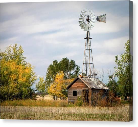 Rural North Dakota Canvas Print