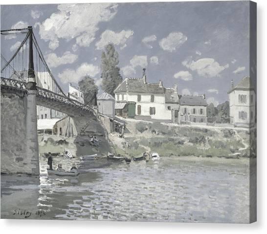 Rustic 11 Sisley Canvas Print