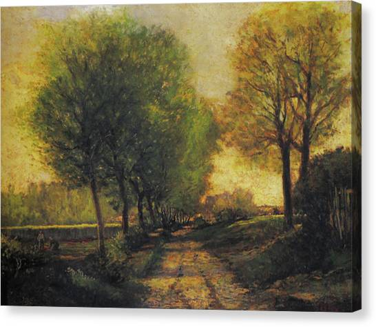 Rustic 12 Sisley Canvas Print