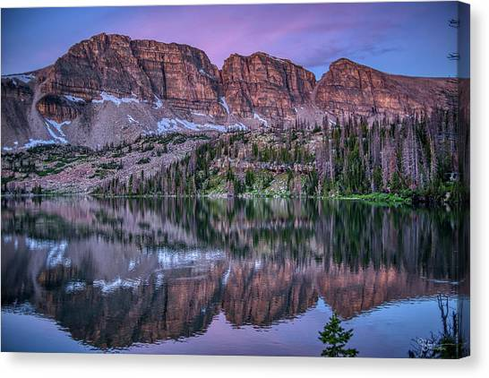 Uinta Canvas Print - Ryder Reflection by James Zebrack