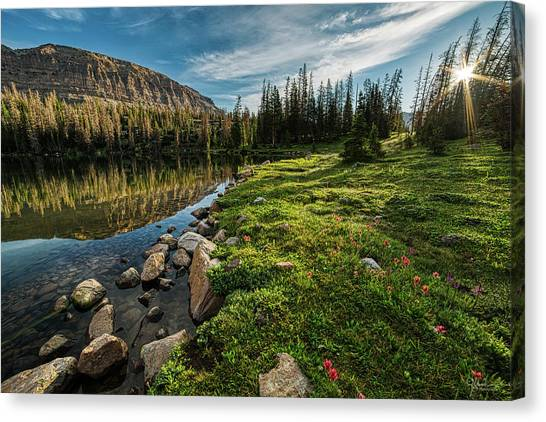 Uinta Canvas Print - Ryder Sunrise by James Zebrack