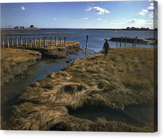 Rye Harbor, New Hampshire Canvas Print