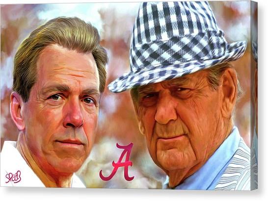 Tides Canvas Print - Saban And Bear by Mark Spears