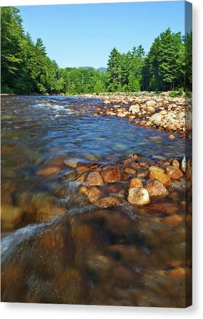 Saco River Rapids Canvas Print
