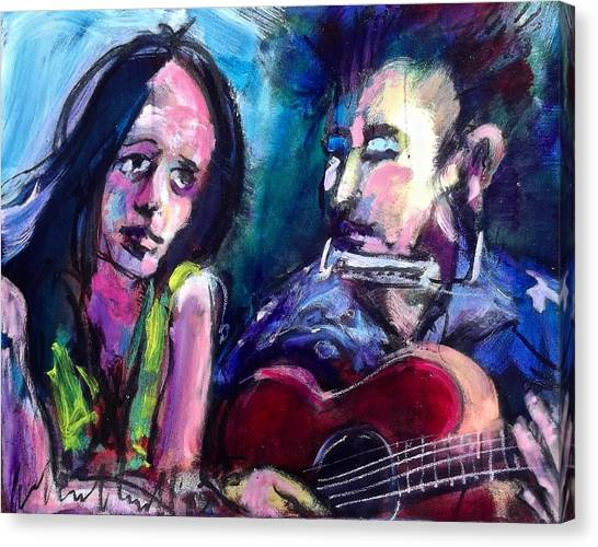 Sad Eyed Lady Canvas Print