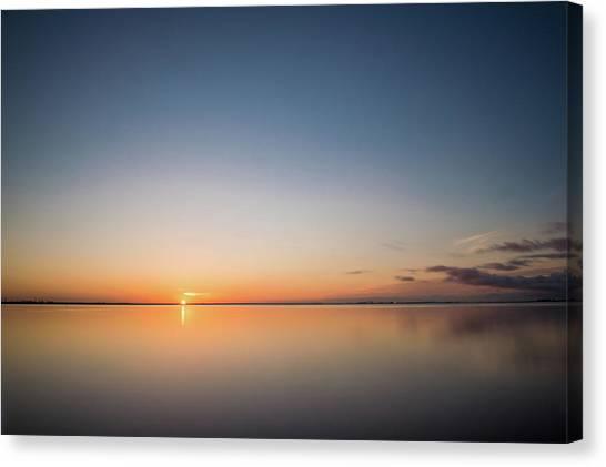 Safety Harbor Sunrise Canvas Print