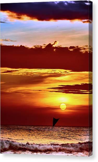 Sail Away... Canvas Print