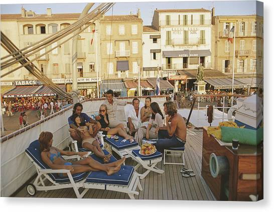 Saint-tropez Canvas Print