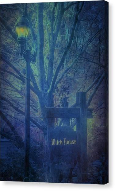 Salem Massachusetts  Witch House Canvas Print