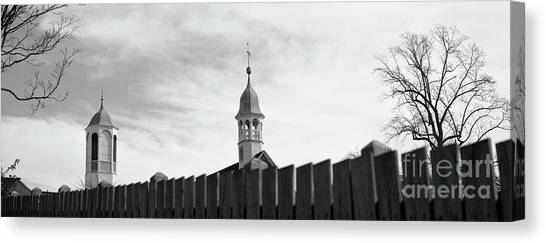 Canvas Print featuring the photograph Salem by Patrick M Lynch