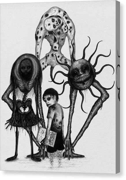 Sammy And Friends - Artwork Canvas Print