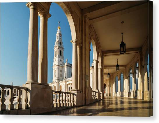 Sanctuary Of Fatima, Portugal Canvas Print
