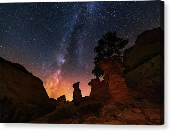 Canvas Print featuring the photograph Sanctuary by Tassanee Angiolillo
