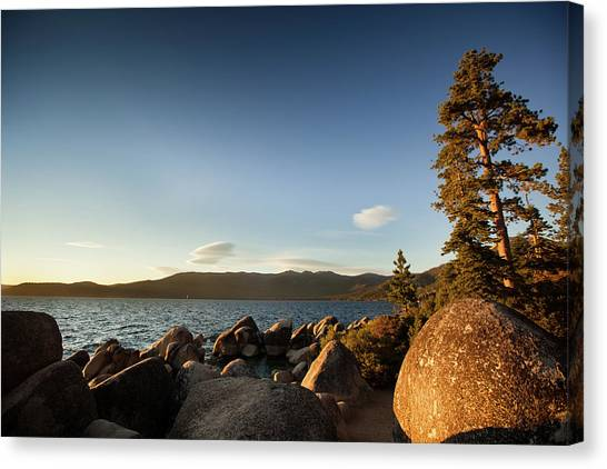 Sand Harbor State Beach, Lake Tahoe Canvas Print