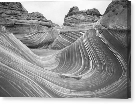 Sandstone Rock Formations, Colorado Canvas Print