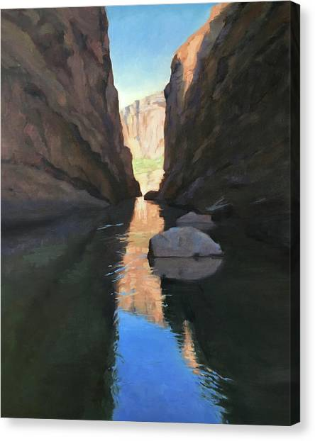 Santa Elena Canyon, Big Bend Canvas Print
