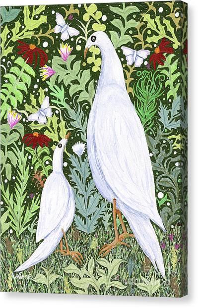 Sapientes Pacis Birds Canvas Print