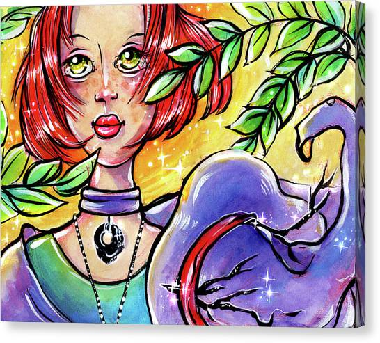 Sarahfina Sun Canvas Print