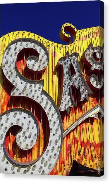 Canvas Print - Sas by Skip Hunt