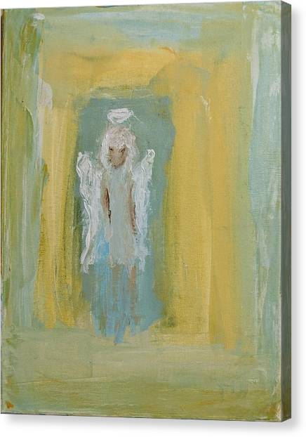 Sassy Frassy Angel Canvas Print
