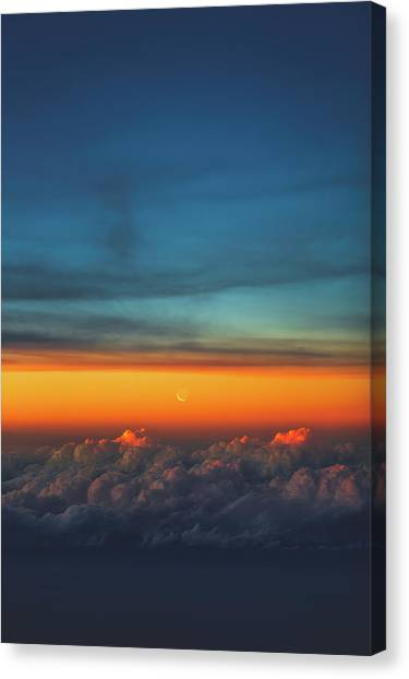 Satellite Canvas Print