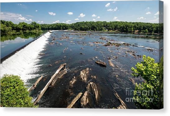 Savannah River Rapids - Augusta Ga Canvas Print