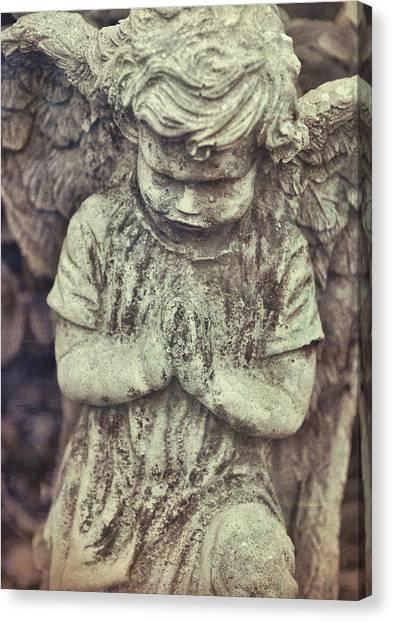 Say A Little Prayer Canvas Print by JAMART Photography