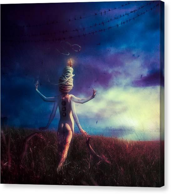 Scarecrows Canvas Print - Scarecrow by Mario Sanchez Nevado
