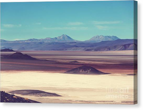 South American Canvas Print - Scenic Landscapes Of Northern Argentina by Galyna Andrushko