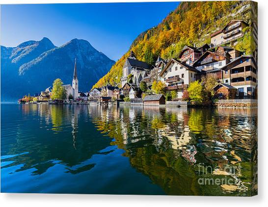 See Canvas Print - Scenic Picture-postcard View Of Famous by Canadastock