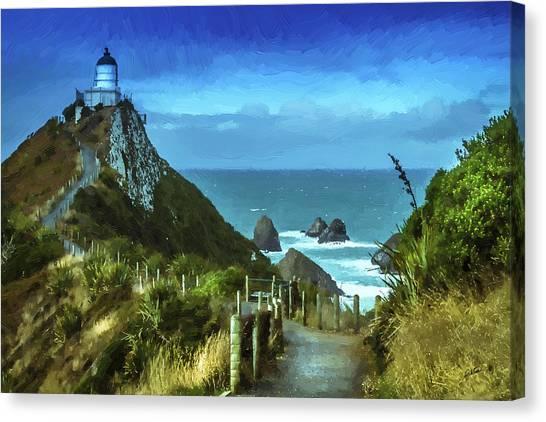 Scenic View Dwp75367530 Canvas Print