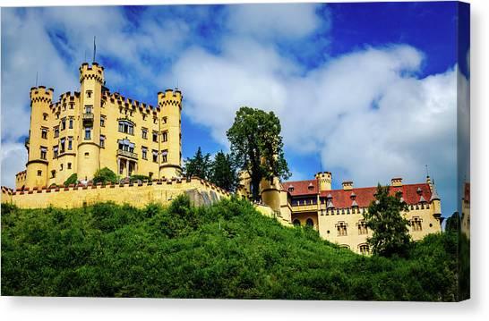Schloss Hohenschwangau Canvas Print