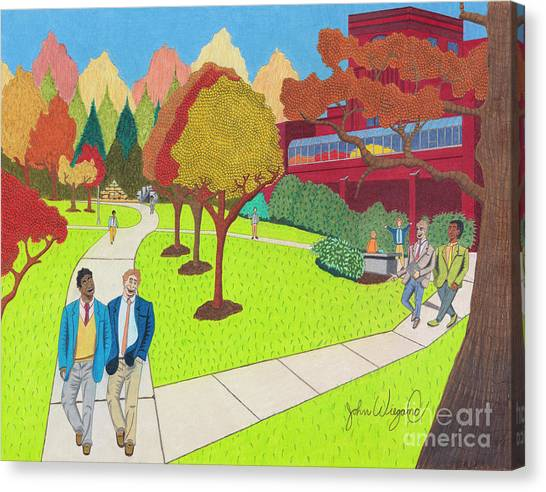 School Ties Canvas Print